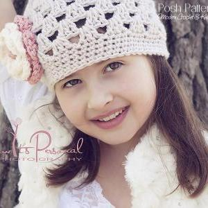 Crochet Hat Pattern Elegant Shell B..