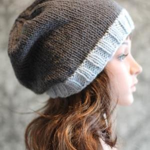 Knitting Pattern - Easy Knit Slouch..