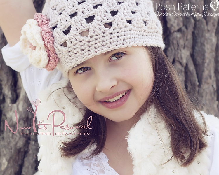 Crochet Hat Pattern Elegant Shell Beanie Crochet Pattern Newborn To