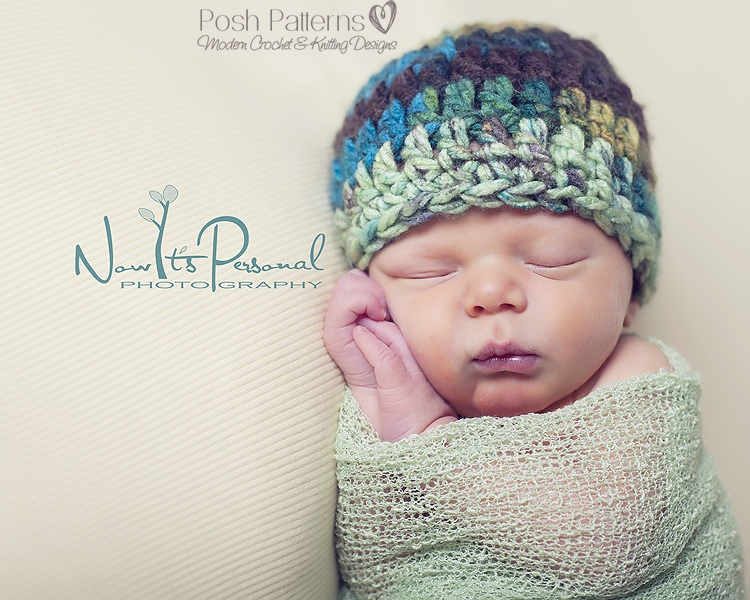 Crochet Hat Pattern Simple Easy Beginner Beanie Crochet Pattern ...