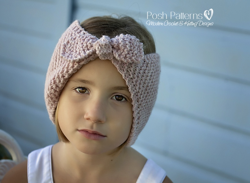 Knitting Pattern - Knit Headband Pattern - Headband Knitting Pattern ...