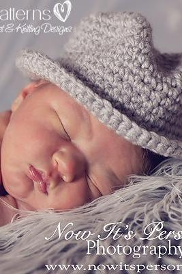 Crochet Hat Pattern Baby Fedora Little Man Hat Crochet Pattern Newborn to Adult PDF 204