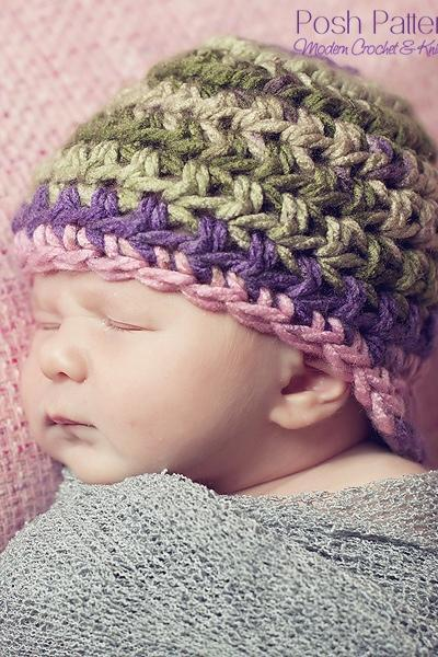 Crochet Hat Pattern Newsboy Newsgirl Visor Hat Crochet Pattern Newborn to Adult Sizes PDF 136