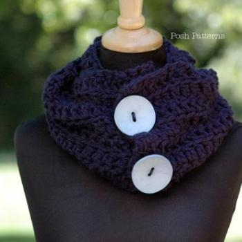 Crochet Pattern - Crochet Cowl Pattern - Adult Ladies Teen Girls - PDF 286