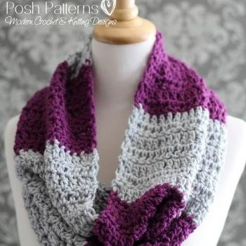 Crochet Pattern - Crochet Cowl Pattern - Easy Beginner Cowl Crochet Pattern - Adult Ladies Teen Girls - PDF 351